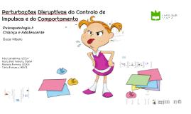 Perturbações Disruptivas do Controlo de Impulsos e do Ccompo