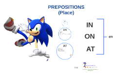 PREPOSITIONS  (Place)