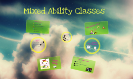 Special Didactics II - Mixed-Abilities Classes