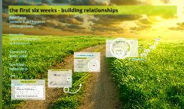 Copy of The First Six Weeks: Building Relationships