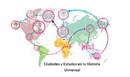 Ciudades y Estados en la Historia Universal
