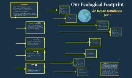 Our Ecollogical footprint