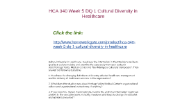 Career Opportunities   Heritage Valley Health System      Heritage Valley Medical Center  Are Your     More   Week   DQ   Cultural Diversity in Healthcare Read over the information in The Provider     s Guide