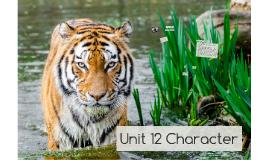Unit 12 Character