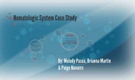 hematologic system case study