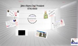 John Adams 2nd President