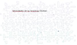 Necesidades de las Empresas (Global)