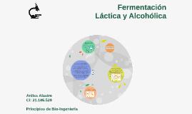 Fermentación láctica y alcohólica