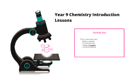 Year 9 Chemistry Introduction Lessons