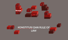 Copy of Copy of KONSTITUSI DAN RULE OF LAW