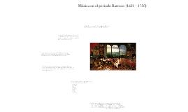 Historia de la Música (V)