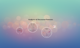 Collaborative review of discourse features