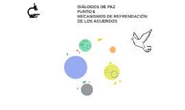 DIÁLOGOS DE PAZ