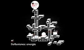 Deflexiones: energía