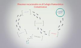 Procesos vocacionales en el Colegio Humanístico Costarricens