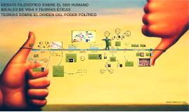 Copy of TEORÍAS SOBRE EL ORIGEN DEL PODER POLÍTICO