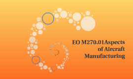 EO M270.01Aspects of Aircraft Manufacturing