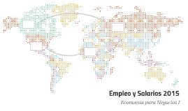 Empleo y Salarios 2015
