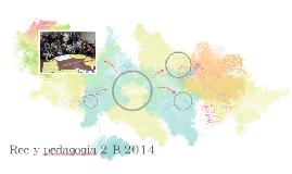 Rec y pedagogia 2 B 2014