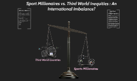 Sport Millionaires vs. Third World Inequalities: An International Imbalance?