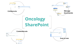 Oncology SharePoint