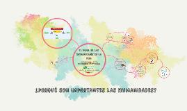 IMPORTANCIA DE LAS HUMANIDADES