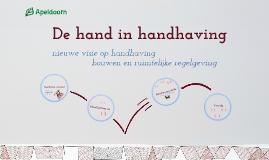 Copy of Presentatie Wijkgericht handhaven