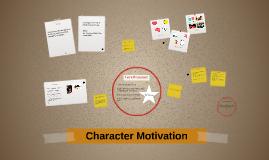Characterization: Motivation