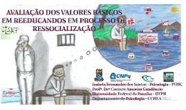 AVALIAÇÃO DOS VALORES BÁSICOS EM REEDUCANDOS EM PROCESSO DE