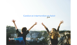 Gestion et intervention en loisir