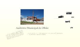 Auditório Municipal Olhão