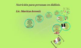 Copy of Nutricion para personas en dialis