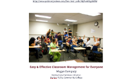 Easy and Effective Classroom Management for Everyone