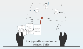 Les types d'intervention en relation d'aide