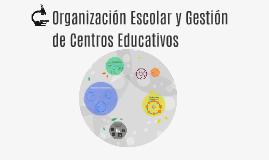 Organización Escolar y Gestión de Centros Educativos