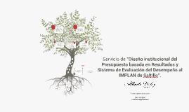 Servicio de PbR-SED al IMPLAN - Alberto Vélez