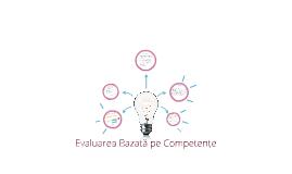 Evaluarea Competențelor