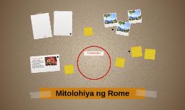 Mitolohiya ng Rome
