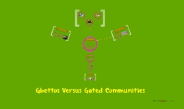 Ghettos Versus Gated Communities