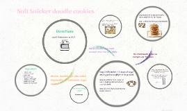 Soft Snicker doodle cookies