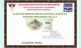 Copy of Obteción de acetona apartir de propano de GLP