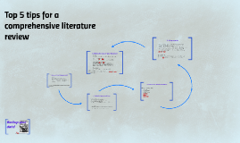 Top 5 tips for a comprehensive literature review
