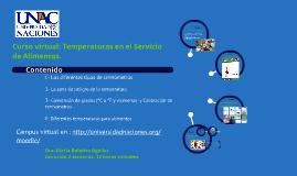 Copy of Curso Temperaturas en el Servicio de Alimentos