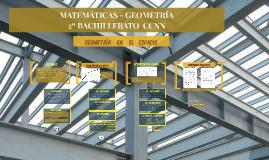 Geometría en el espacio. Posiciones de rectas y planos. 2º Bach-CCNN