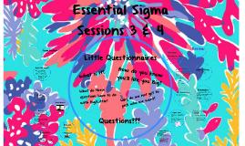 Essential Sigma 3 & 4