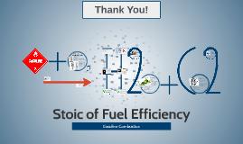 Fuel Efficiency: Gasoline Combustion