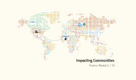 Impacting Communities