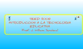TEED 3008 - Sesión #1