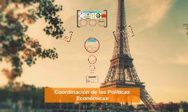 Coordinación de las Políticas Económicas
