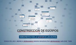 CONSTRUCCION DE EQUIPOS